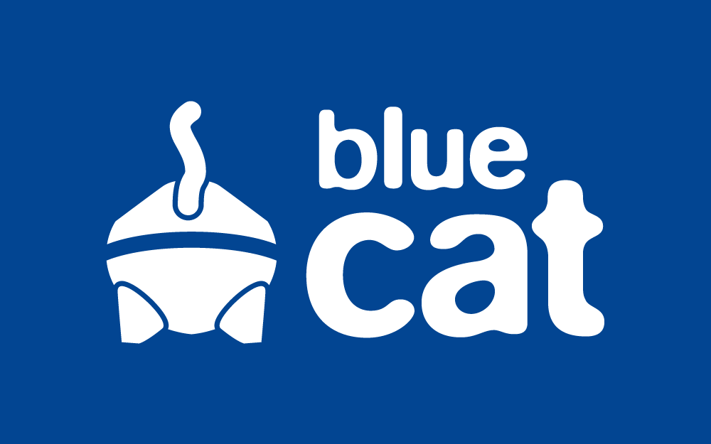 Das Blue-Cat-Logo